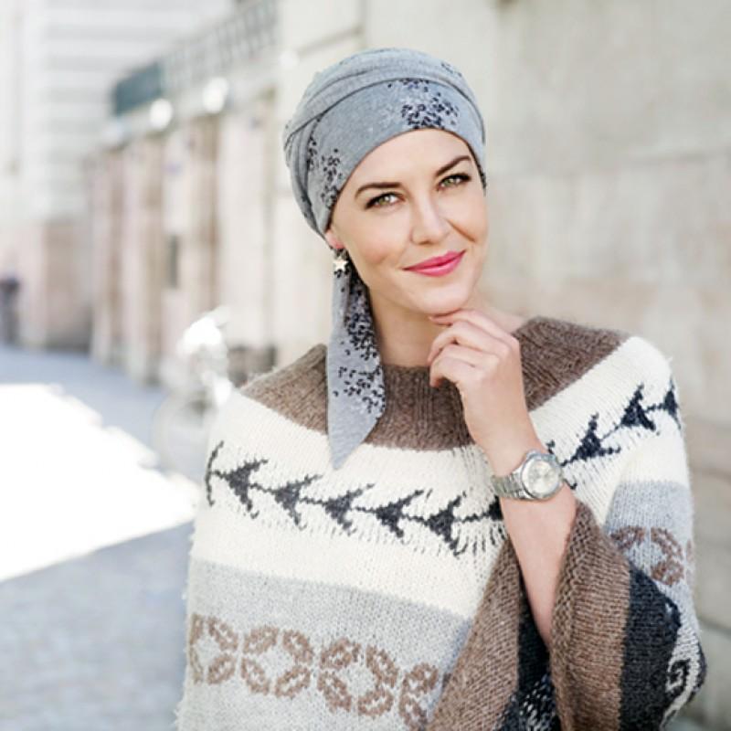 Pañuelos cáncer - Gorros y turbantes oncológicos 379175e84177